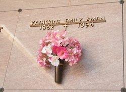 Katherine Emily <I>Henders</I> Aman