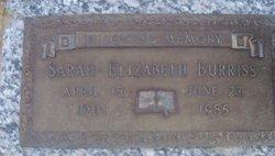 Sarah Elizabeth <I>Outlaw</I> Burriss
