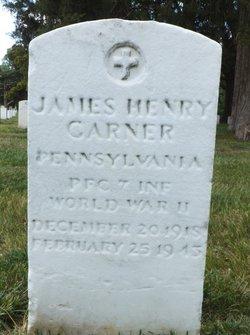 Pvt James Henry Garner