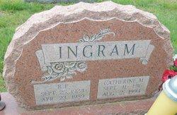 """Catherine Margaret """"Tess"""" <I>Pugh</I> Ingram"""