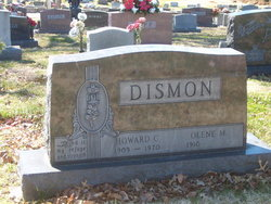 Howard C Dismon 1909 1970 Find A Grave Memorial