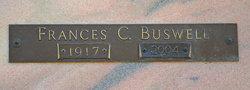 Frances C <I>Moore</I> Buswell