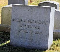 Annie M Donaldson