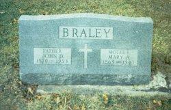 Mary Augustine <I>Belonger</I> Braley