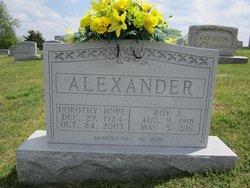 Roy Johnson Alexander