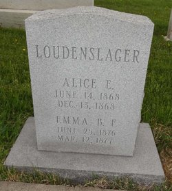 Alice E Loudenslager