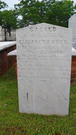 "Elizabeth ""Betsey"" <I>Allen</I> Boyd"