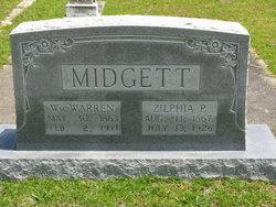 Zilphia Payne <I>Gray</I> Midgett