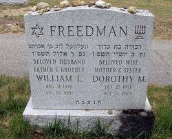 Dorothy M. <I>Petkun</I> Freedman