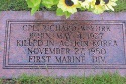 CPL Richard William York