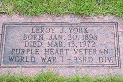 Leroy John York