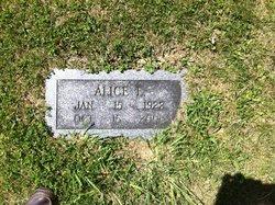 Alice Elizabeth <I>Ernst</I> Clark