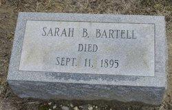 Sarah Burrows <I>Barr</I> Bartell