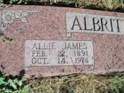 Allie James Albritton