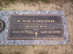 Margaret June <I>Pecht</I> Karschner