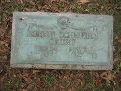 Bonnie V <I>Schniebly</I> Crump