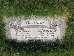 Edward Lambert Cannon