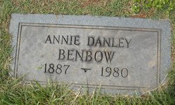 Annie <I>Danley</I> Benbow