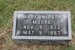 Mary <I>Wilson</I> Moore