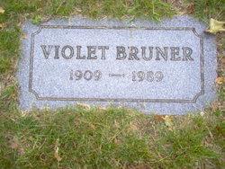 Violet L Bruner