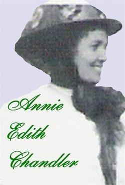 Annie Edith <I>Chandler</I> Brown