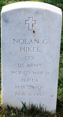 Nolan G Hikel