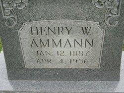 Henry William Ammann