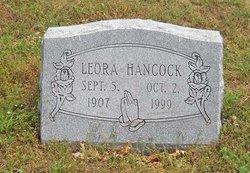 Leora <I>Lackey</I> Hancock