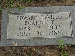Edward DeVillo Boatright