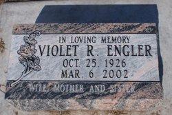 Violet Ruth <I>Comma</I> Engler