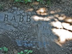 Harry Conkey Babb