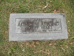 Agnes Victoria <I>Bishop</I> Appling