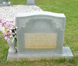 Virgie <I>Mountcastle</I> Gamble