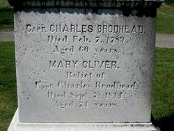 Mary <I>Oliver</I> Brodhead