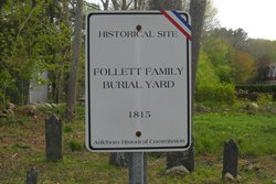 Follett Family Burial Yard