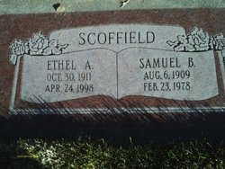 Ethel Sarah <I>Adams</I> Scoffield