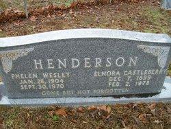 Elnora <I>Castleberry</I> Henderson