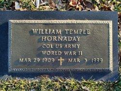 """William Temple """"Bill"""" Hornaday"""