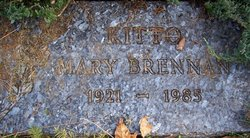 Mary Frances <I>Brennan</I> Kitto