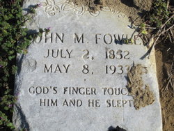 John Marsden Fowler