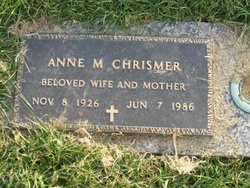 Anne Margaret <I>Gibbs</I> Chrismer