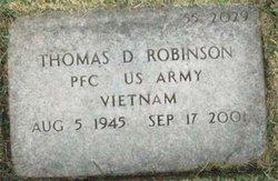 Thomas D Robinson