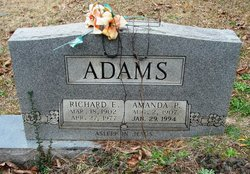 Amanda <I>Puryear</I> Adams