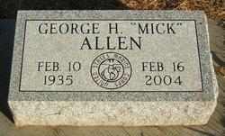 """George H. """"Mick"""" Allen"""