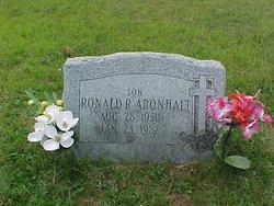 Ronald R Aronhalt