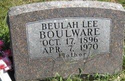 Beulah Lee <I>LeGrand</I> Boulware