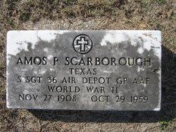 Sgt Amos P Scarborough