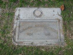 Elizabeth <I>Kikkert</I> Lorimor