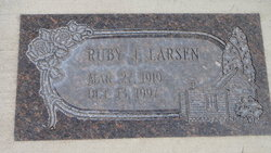 Ruby <I>Jensen</I> Larsen