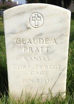 Corp Claude Austin Pratt